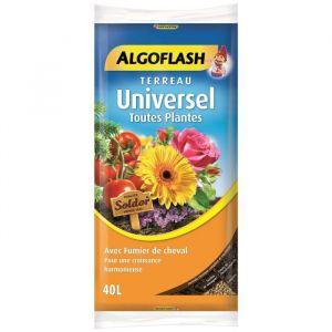 Algoflash Terreau Universel Toutes Plantes - 40L