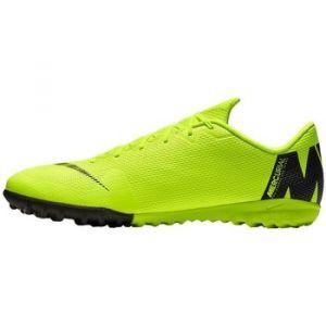 Nike Chaussure de football à crampons pour surface synthétique VaporX 12 Academy TF - Jaune - Taille 45.5
