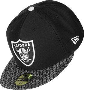 New Era Onf Nfl17 5950 Sl Oakland Raiders casquette noir 7 1/8 EU