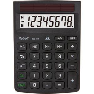 Rebell ECO310 - Calculatrice de bureau 8 chiffres