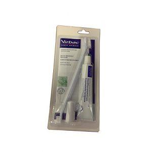 Virbac Kit de brossage dentaire pour chien