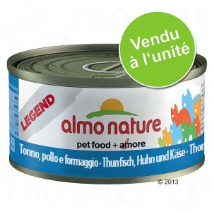 Almo Nature Nourriture humide pour chats Thon/Calmars