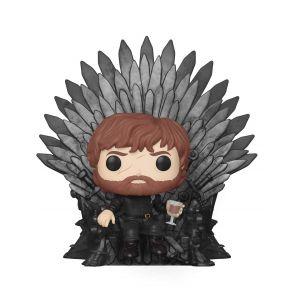 Funko Figurine Pop! Tyrion Lannister sur le Trône De Fer - Game of Thrones