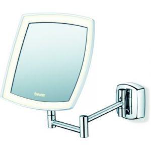 Beurer LED BS 89 - Miroir mural pour maquillage miroir grossissant éclairage