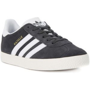 Adidas Gazelle, Baskets Basses Mixte Enfant, Gris (DGH Solid Grey/FTWR White