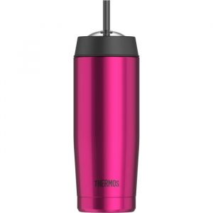 Thermos Tumbler Mug 0.53 L Rose - Straw