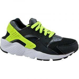 Nike Baskets enfant Huarache Run Gs 654275-017 - Couleur 40 - Taille Noir