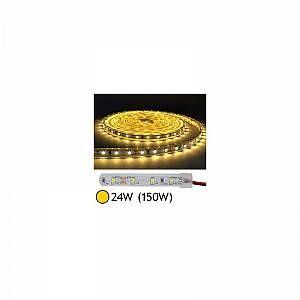 Vision-El Bandeau LED Pro 24W (150W) IP67 (gaine silicone) Blanc chaud 2700°K