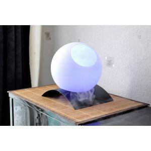 Zen'Arôme SCB116B - Brumisateur lumineux boule sur pied en fer