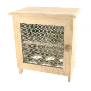 CTOP Garde-manger en bois pour 12 oeufs 12 x 18,5 x 22,5 cm