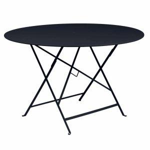Fermob Bistro - Table de jardin ronde pliante en acier Ø117 x 74 cm -  Comparer avec Touslesprix.com