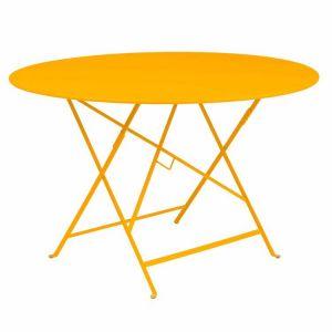 Fermob Bistro - Table de jardin ronde pliante en acier Ø117 x 74 cm