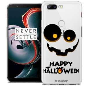 CaseInk Coque OnePlus 5T (6 ) Extra Fine Halloween Happy