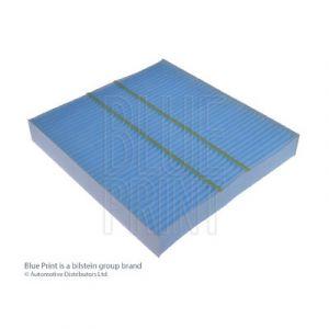 blue print filtre d 39 habitacle adc42511 comparer avec. Black Bedroom Furniture Sets. Home Design Ideas