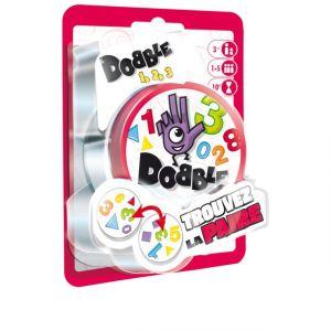 Asmodée Jeu de cartes Dobble chiffres et formes