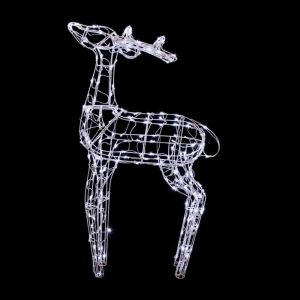 Festilight Renne 3D lumineux 240 Leds H.120 cm