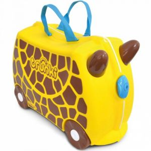 Trunki Valise à roulettes porteur Gerry la Girafe