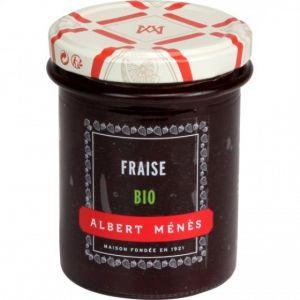 Albert ménès Confiture extra de fraise bio 230g