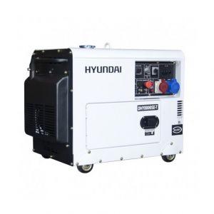 Hyundai Groupe électrogène diesel mono et tri 7 kVa DHY8000SE-T