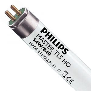 Philips Tube fluorescent Master TL5 HO - 54 W - Lot de 20 -
