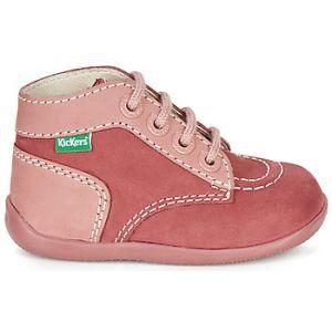 Kickers Boots enfant BONBON rose - Taille 20,22