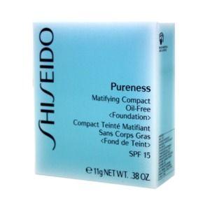 Shiseido Pureness 40 Natural Beige - Compact teinté matifiant sans corps gras <Fond de teint> SPF 15