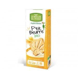 Le Moulin du Pivert Biscuits P'tit Beurre Bio 155g