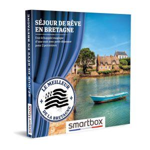 Smartbox Coffret cadeau Séjour de rêve en Bretagne