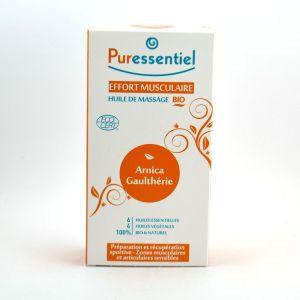 Puressentiel Huile de massage bio effort musculaire - 200 ml