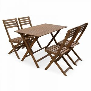 Table jardin acacia pliante - Comparer 60 offres