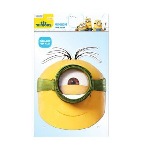 Masque adulte Les Minions au naturel