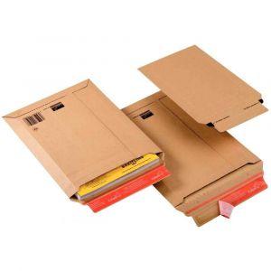 ColomPac Pochette d'expédition, en carton ondulé marron