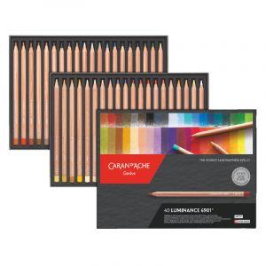 Caran d'Ache Artist Luminance Pencil Set (Set of 40)