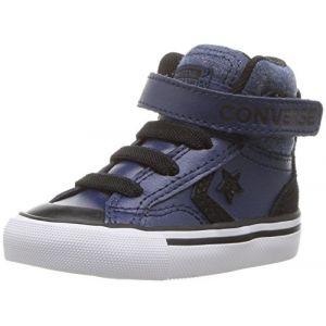 Converse Baskets montantes enfant PRO BLAZE STRAP HI bleu - Taille 23,25