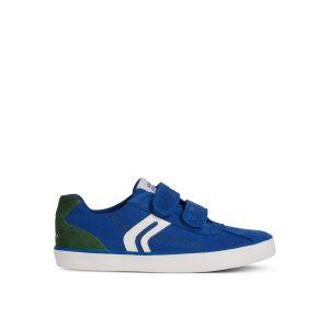 Geox Baskets respirantes Kilwi Bleu/Vert - Taille 30;31;32;33;34;35;36;38