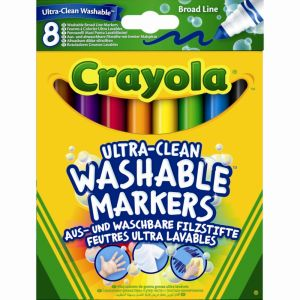Crayola Ilavabilissimi - 8 gros crayons ultra lavables