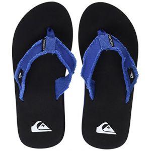 Image de Quiksilver Monkey Abyss, Chaussures de Plage et Piscine Garçon, Bleu (Blue/Black/Blue Xbkb), 32 EU