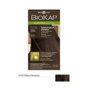 Biokap Coloration cheveux Nutricolor Delicato chatain noisette 5.05