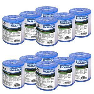 Intex Cartouche de filtration Type H Lot de 12