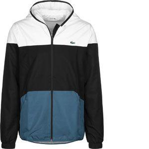 c929f0b9ca Lacoste Sport BH3588 Blouson Homme Noir (Blanc/Noir-Neottia 6s9) Large (