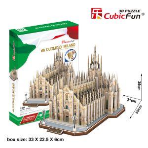 CubicFun Duomo di Milano - Puzzle 3D 251 pièces (Difficulté: 8/8)