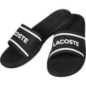 Lacoste L,30 Slide 118 3 Cam, Tongs Hommes, Noir (Blk/WHT), 42 EU
