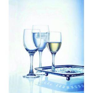 Cristal d'Arques 6 verres à pied en diamax (19 cl)