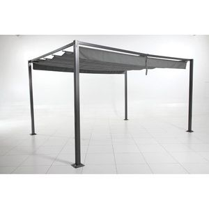 pergola aluminium 4x3 comparer 151 offres. Black Bedroom Furniture Sets. Home Design Ideas