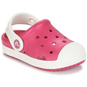 Image de Crocs Bump It Clog Kids, Mixte Enfant Sabots, Rose (Candy Pink/Oyster), 33-34 EU