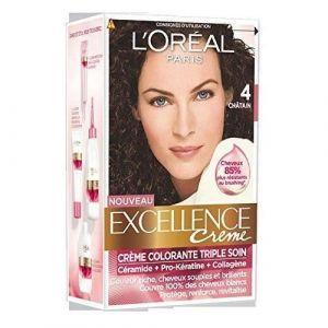 L'Oréal Excellence Couleur Permanente 4,00 Châtain