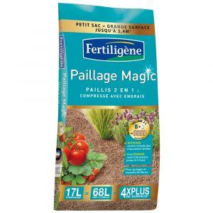 Fertiligene Paillage magic 17 L - Engrais, Fertilisant