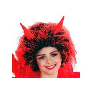 Widmann Perruque de diable / diablesse enfant