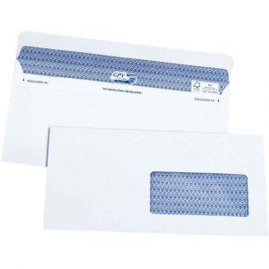 Gpv 5051 - Enveloppe Every Day 112x225, 90 g/m², coloris blanc - boîte de 100