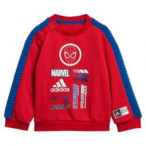 Adidas Ensembles de survêtement Inf dy sm jog rge/nv bb rouge - Taille 18 / 24 mois,2 / 3 ans